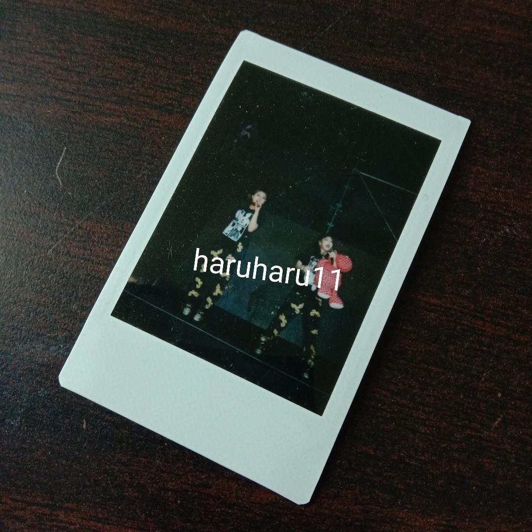 2NE1 Rare Original Polaroid Pictures(Fantaken at AON Tour)