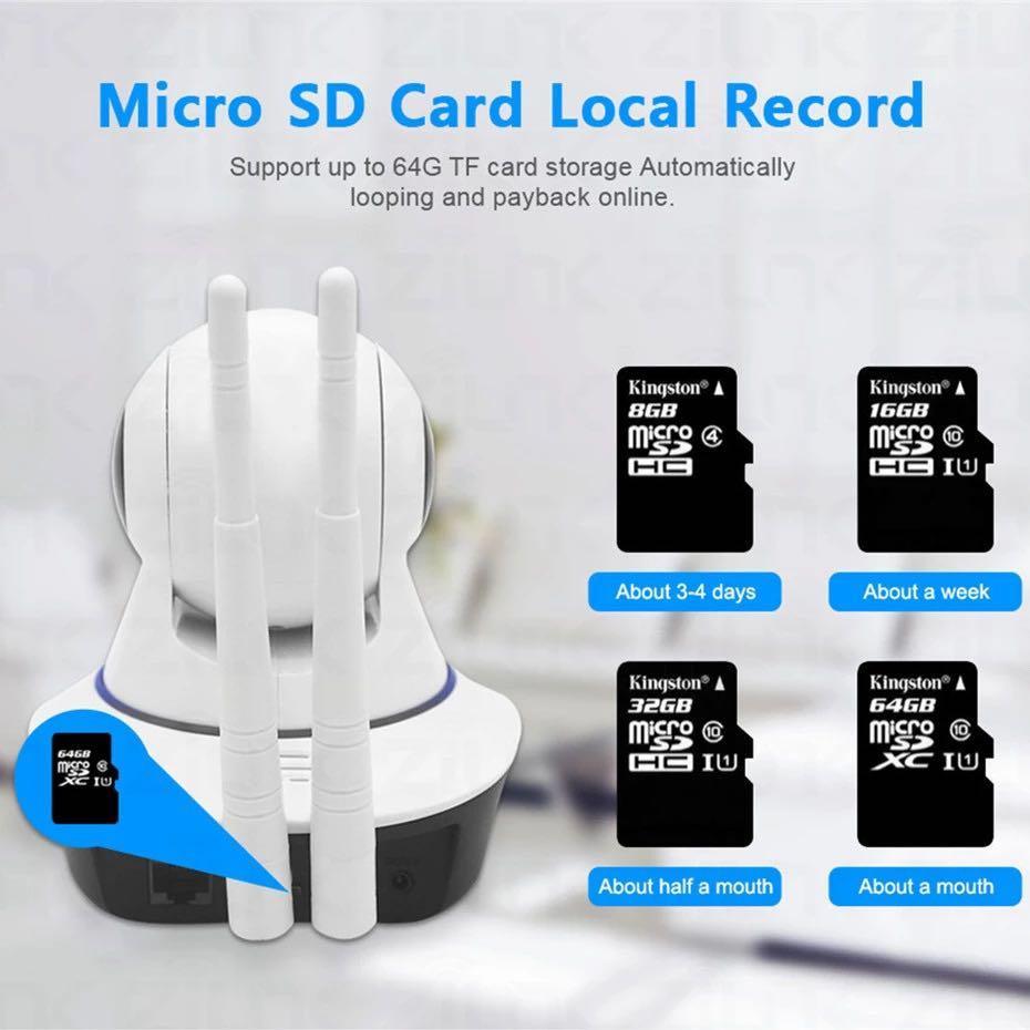 7-STAR* 1080P Wireless IP Camera (1080P Full-HD Wide-Angle