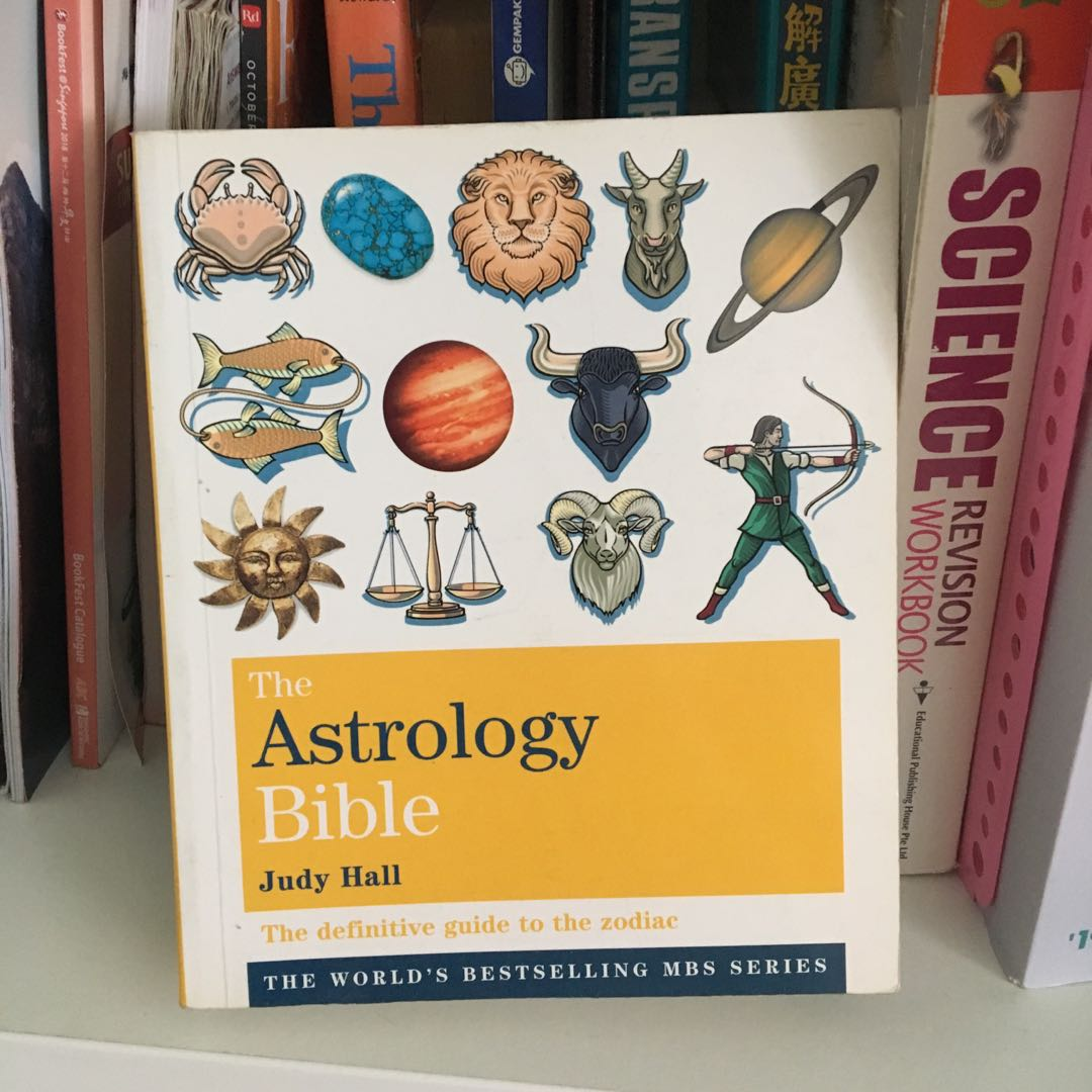 Astrology Bible, Books & Stationery, Non-Fiction on Carousell