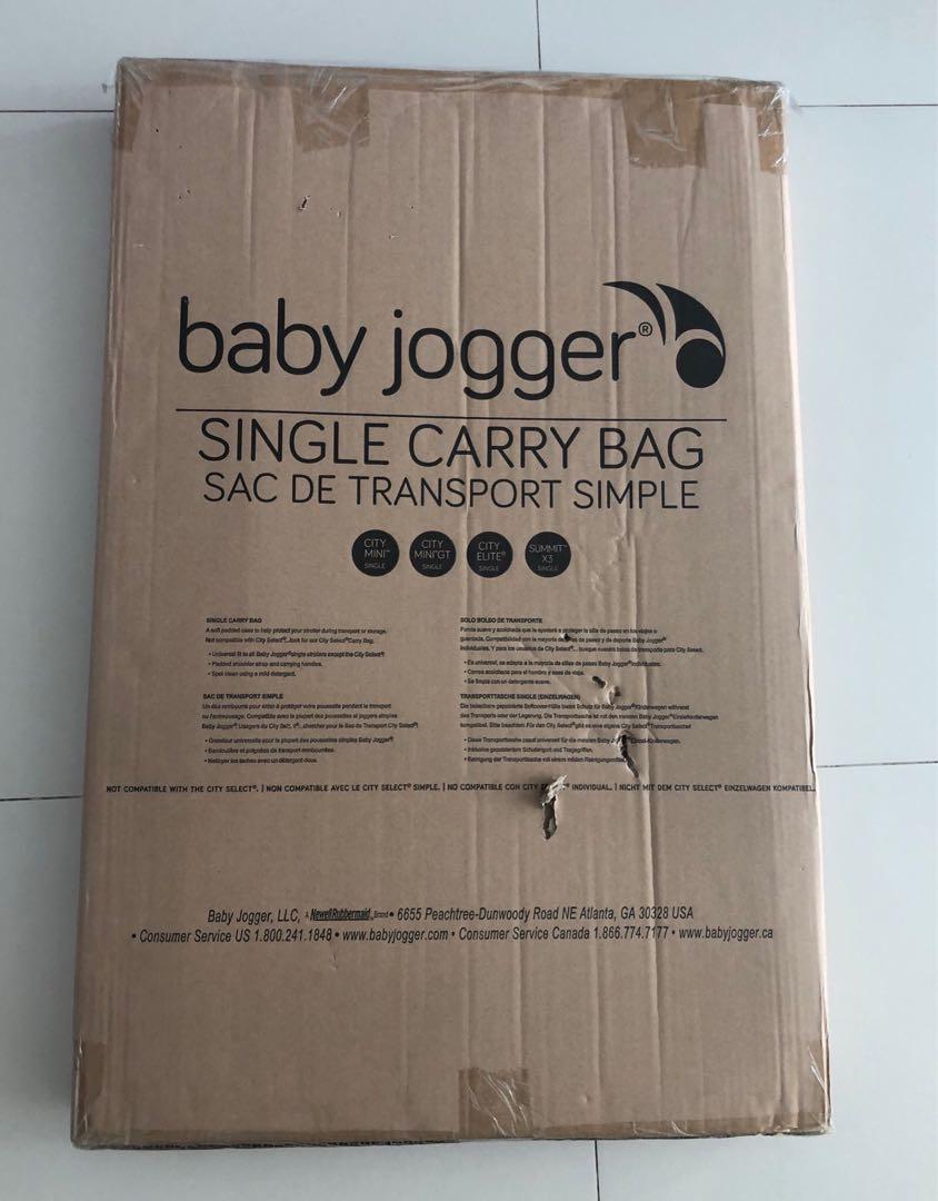 Baby Jogger Stroller Single Carry Bag On Carousell