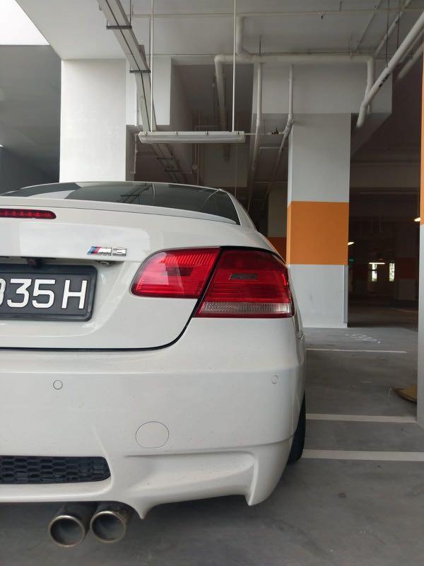 BMW 3 series (E92) 325i convertible hardtop