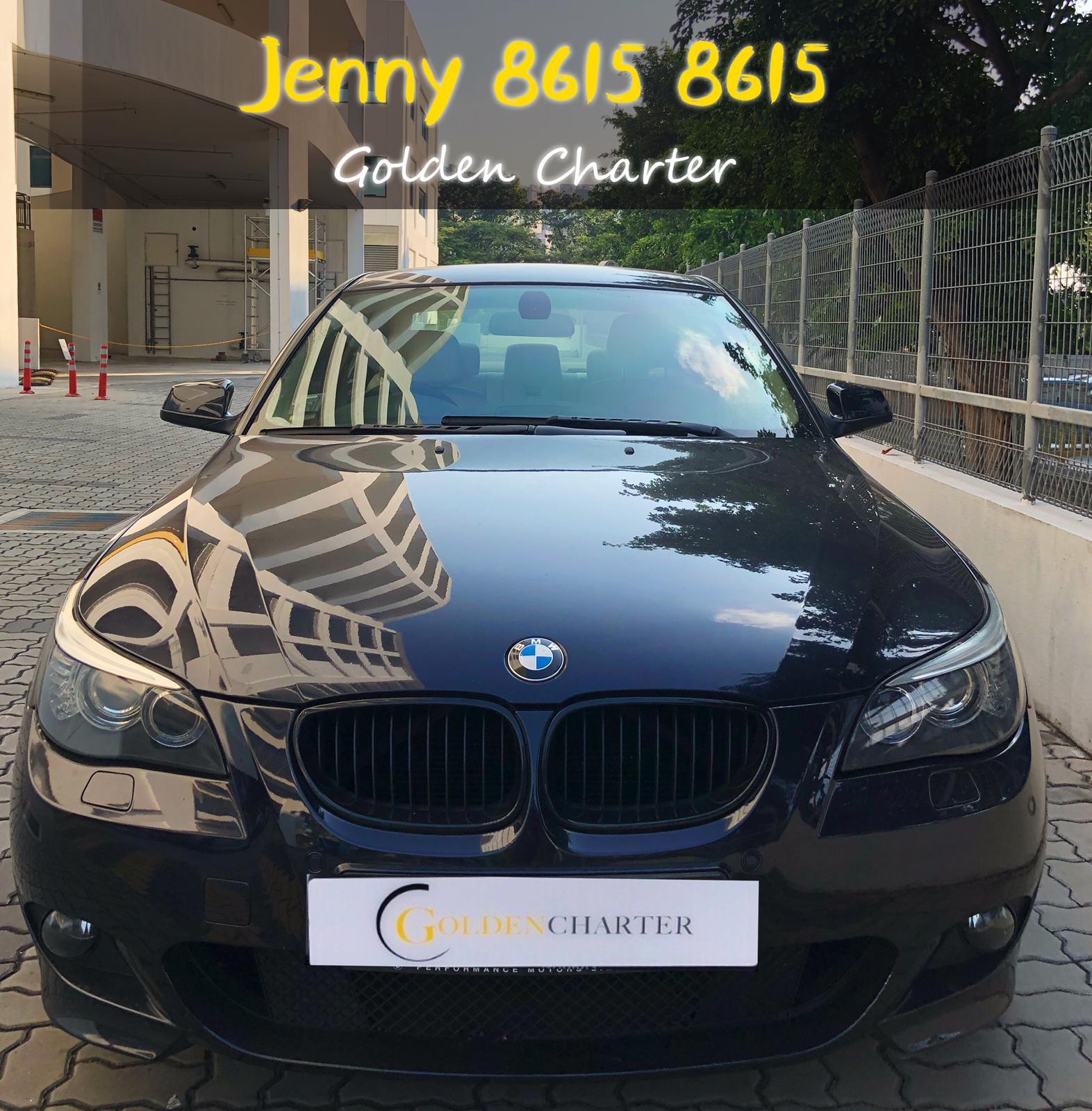 BMW 520 1.8a CONTI CAR rent personal use grab gojek long term.cheap rental