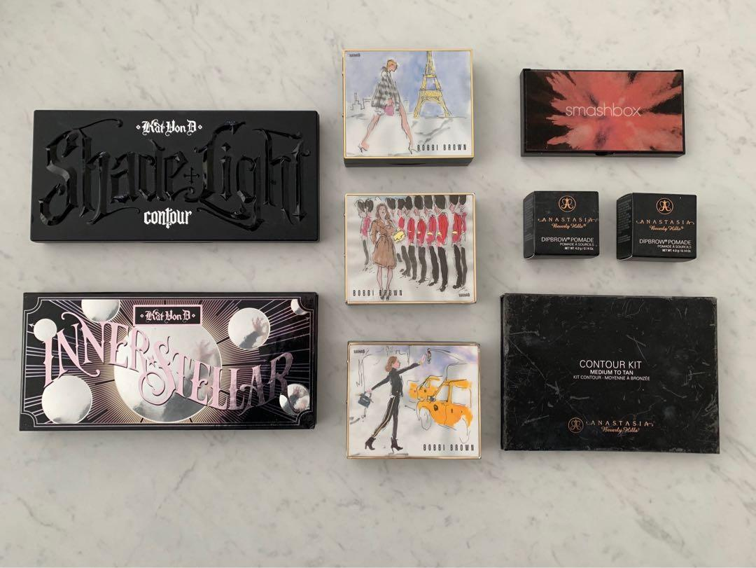 Bobbi Brown New York, Paris and London Limited Edition Palettes