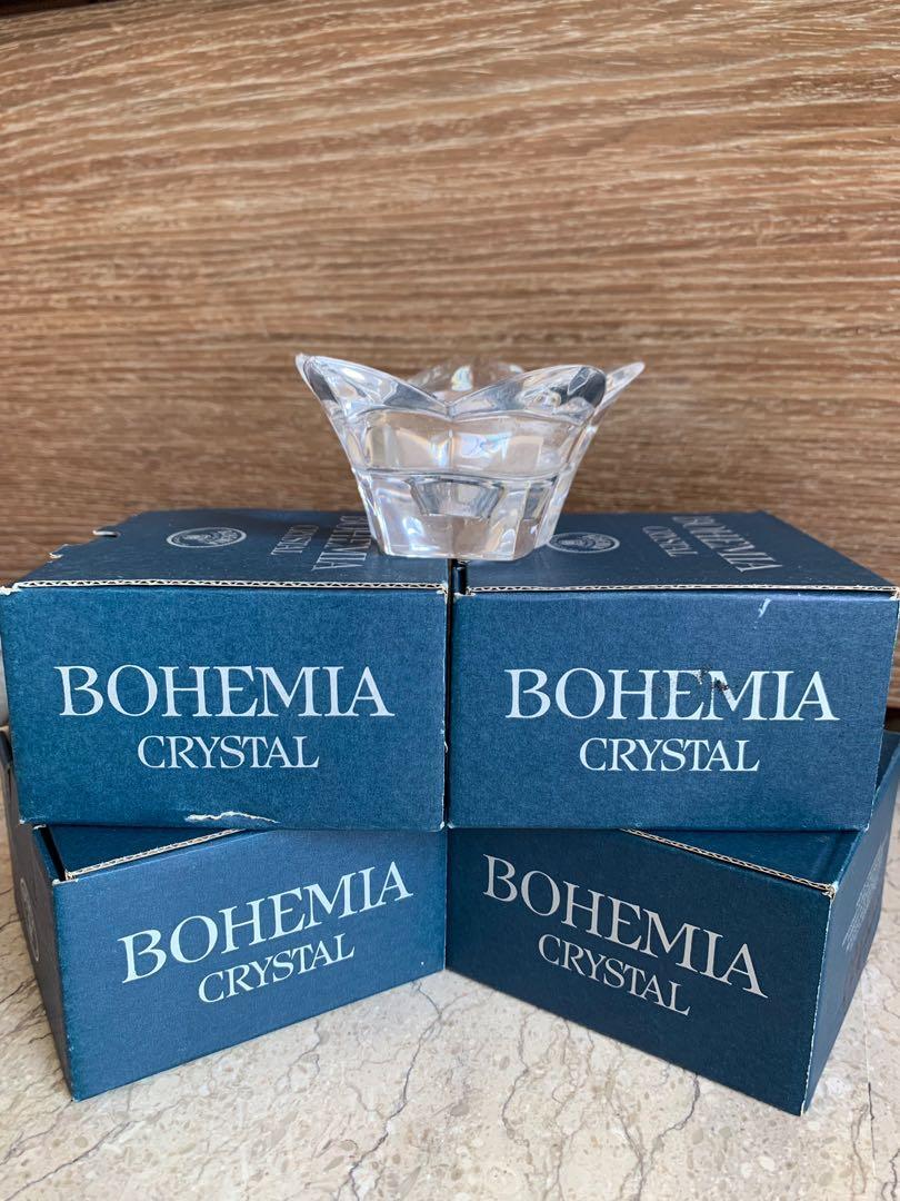 Bohemia Crystal Tealights (set of 5)