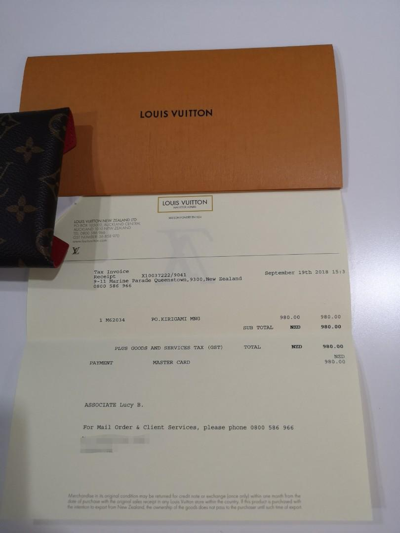 Brand New Louis Vuitton Monogram Kirigami medium size