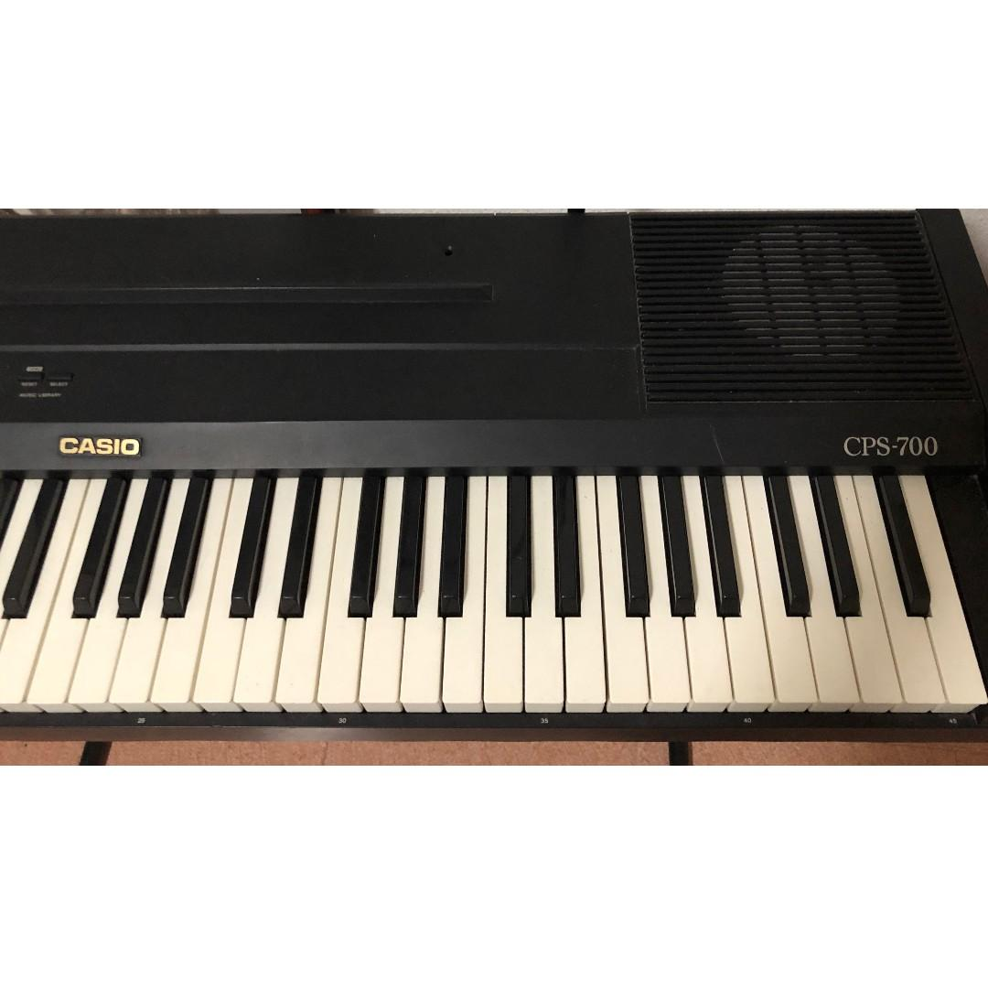 Casio Keyboard with Steel Stand