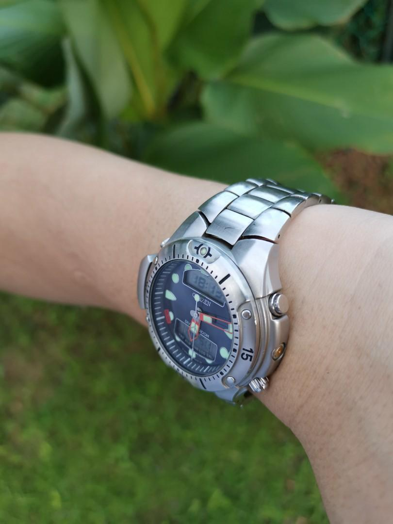 Citizen Promaster Aqualand C500 Depth Meter Dive Watch