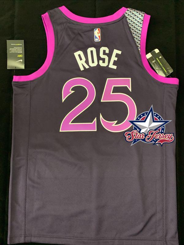 Derrick Rose Minnesota Timberwolves City Edition Swingman Jersey