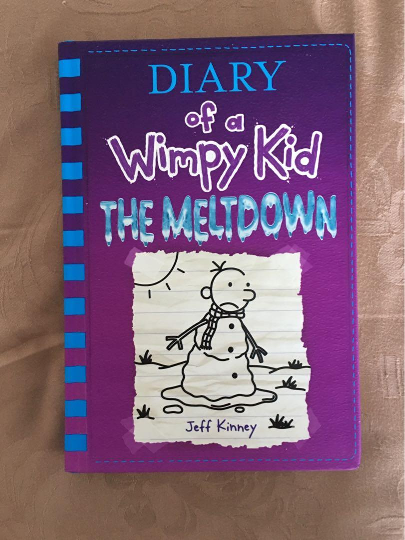 Diary Of A Wimpy Kid The Meltdown Books Children S Books On Carousell