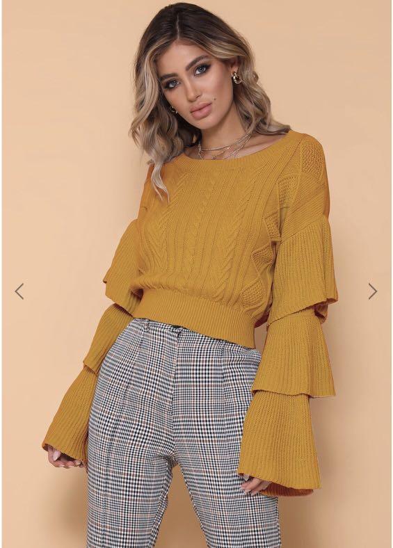 Eloise Sweater Mustard