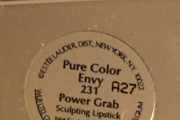 Estée Lauder pure colour Envy Power Grab Sculpting lipstick