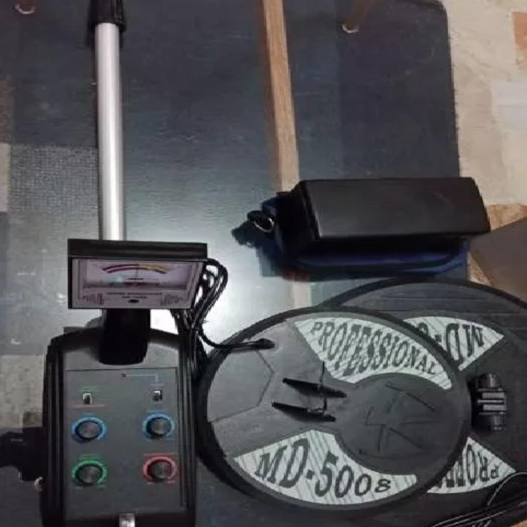 gold metal detector MD-5008 with 2 coil underground scanner