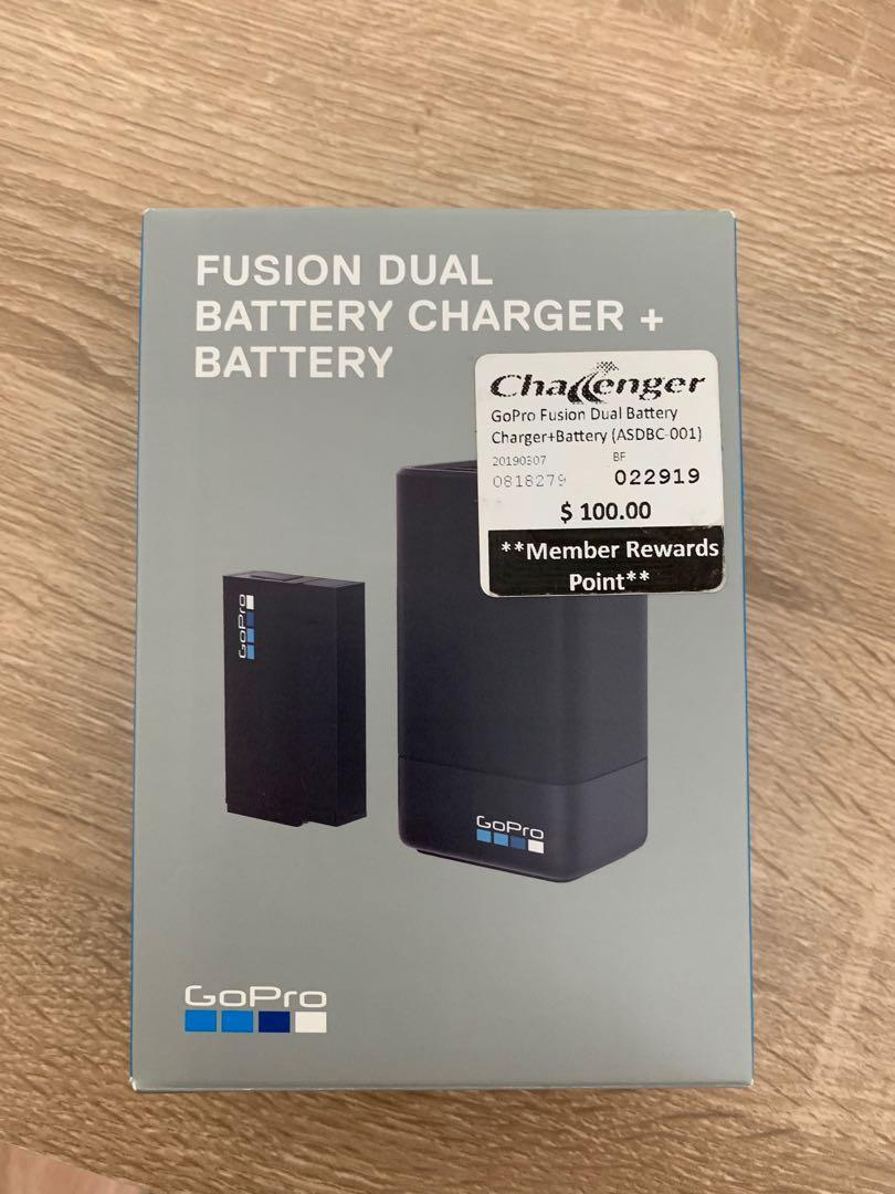 GoPro Fusion Battery charger with additional battery