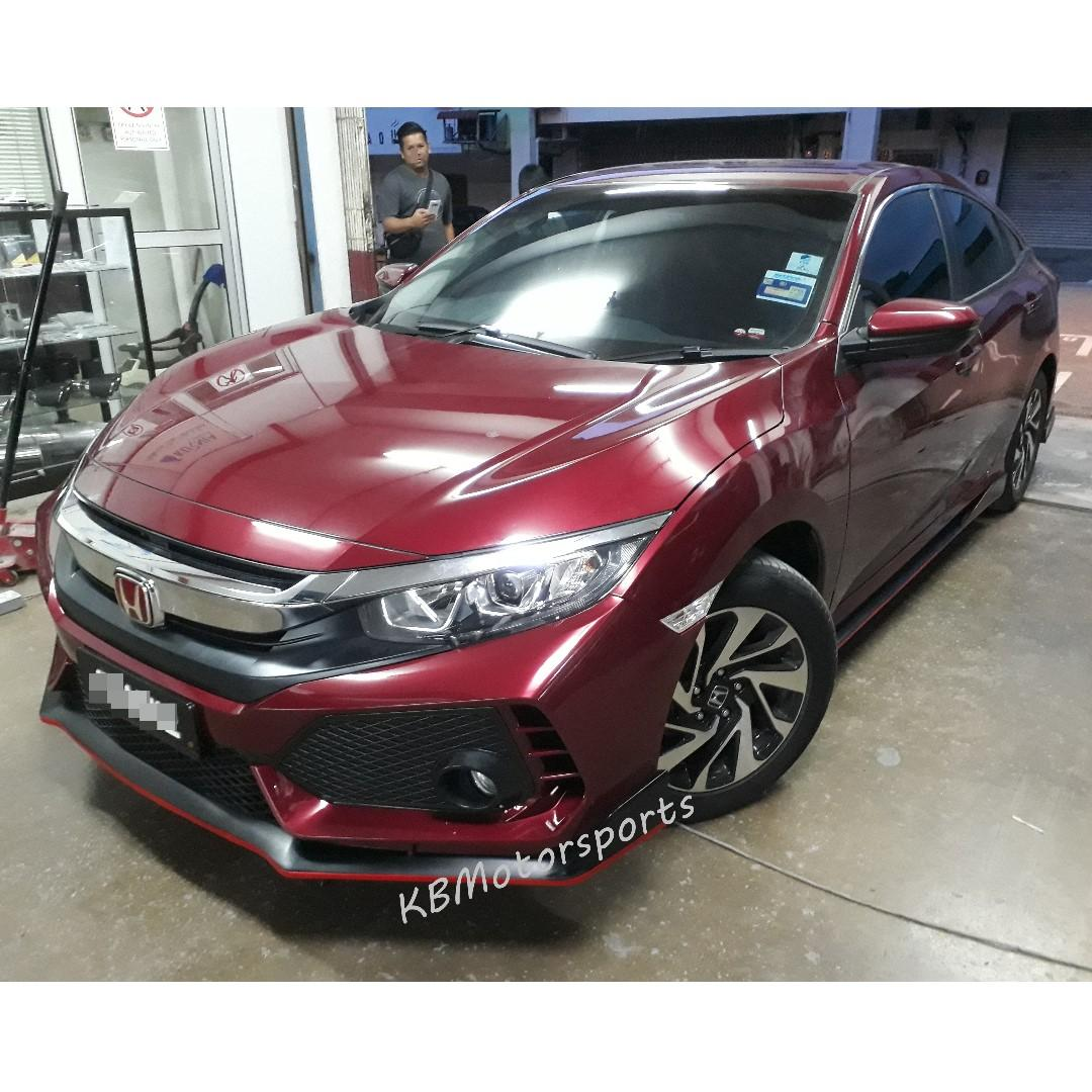 Honda Civic Fc Typer Bodykit Conversion Car Accessories Accessories On Carousell