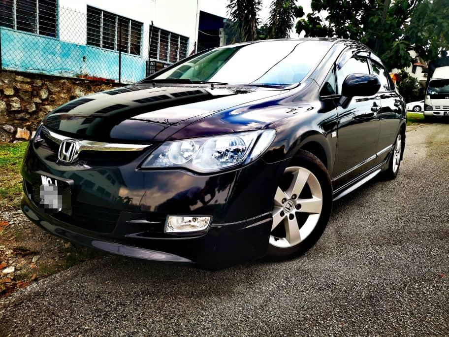 HONDA CIVIC FD I-VTEC 1.8(A) 2007_TIPTOP_BLACKLIST CAN LOAN_DP 6K