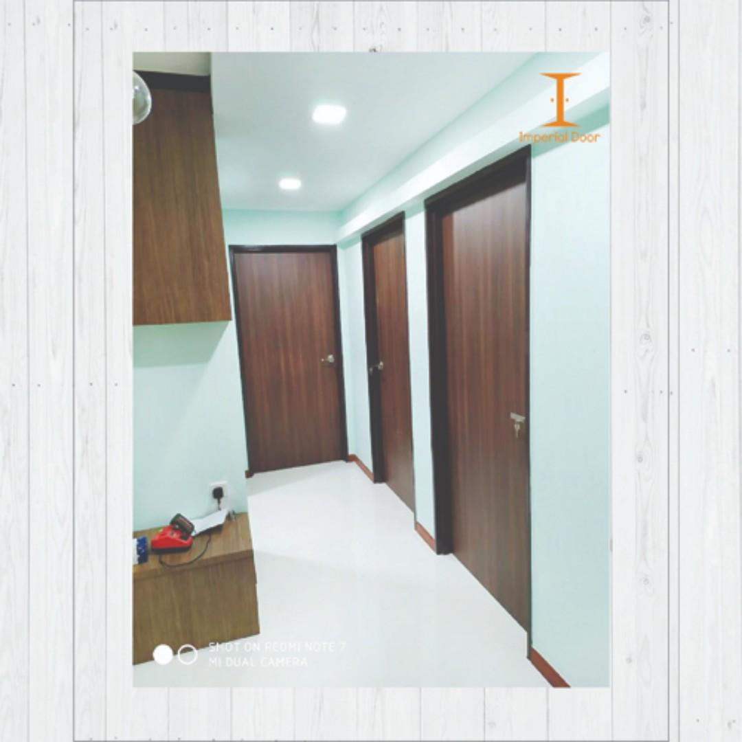 HPL Solid door for bedroom or main door