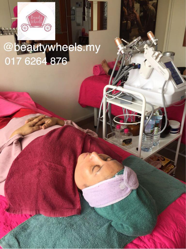 Hydra Facial Treatment Vitamin Infusion