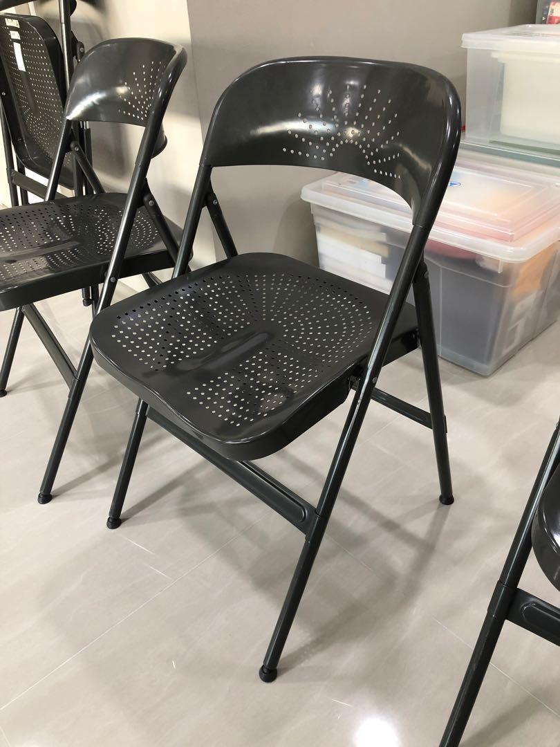 Excellent Ikea Frode Foldable Chair Space On Carousell Lamtechconsult Wood Chair Design Ideas Lamtechconsultcom