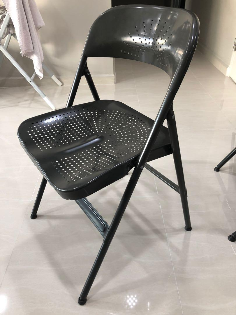 Fine Ikea Frode Foldable Chair Space On Carousell Lamtechconsult Wood Chair Design Ideas Lamtechconsultcom