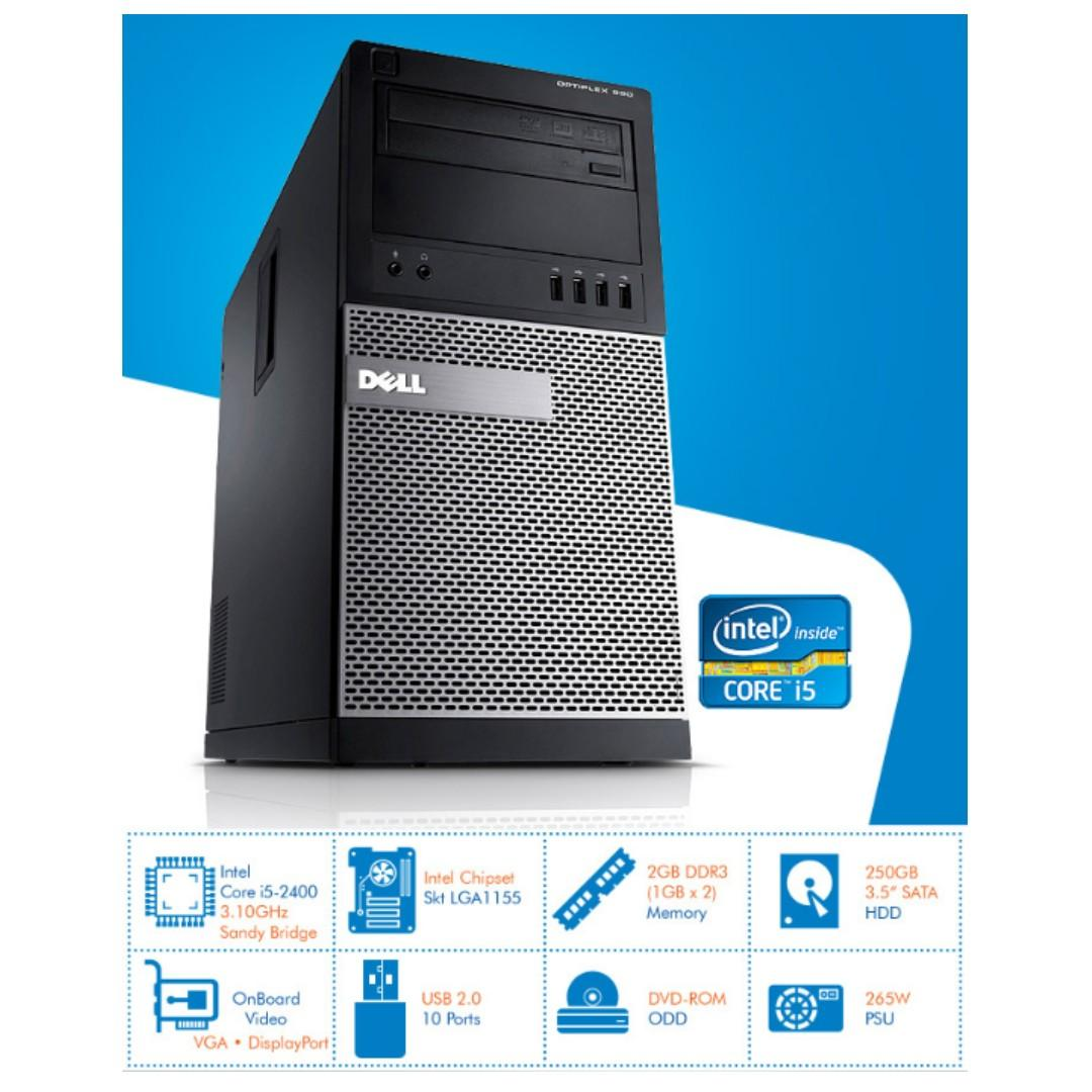 INTEL Core i5-2400 3 10GHz with Dell Optiplex 990 MT on Carousell