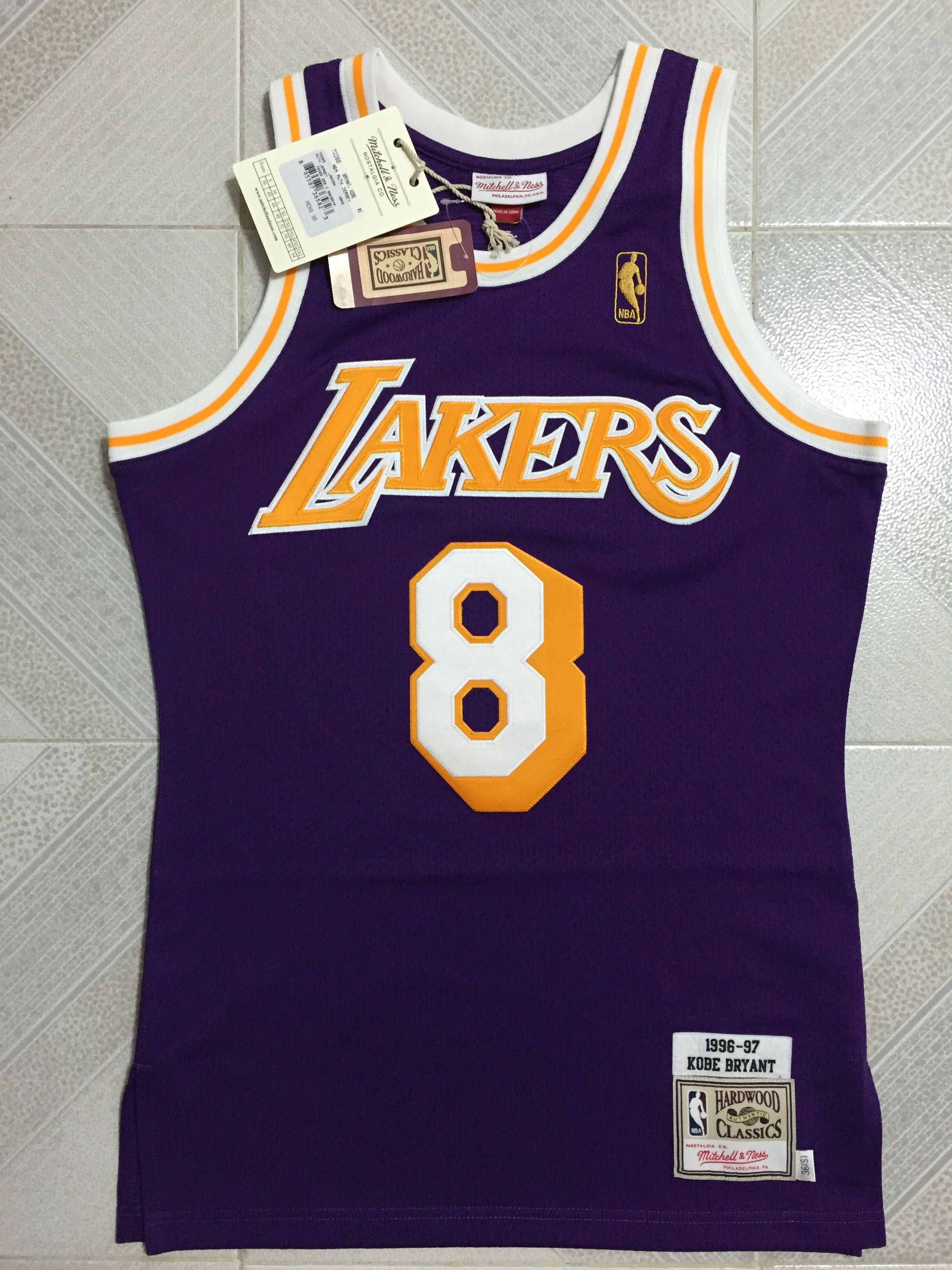 new product 828a8 f6ae9 Kobe Bryant Jersey