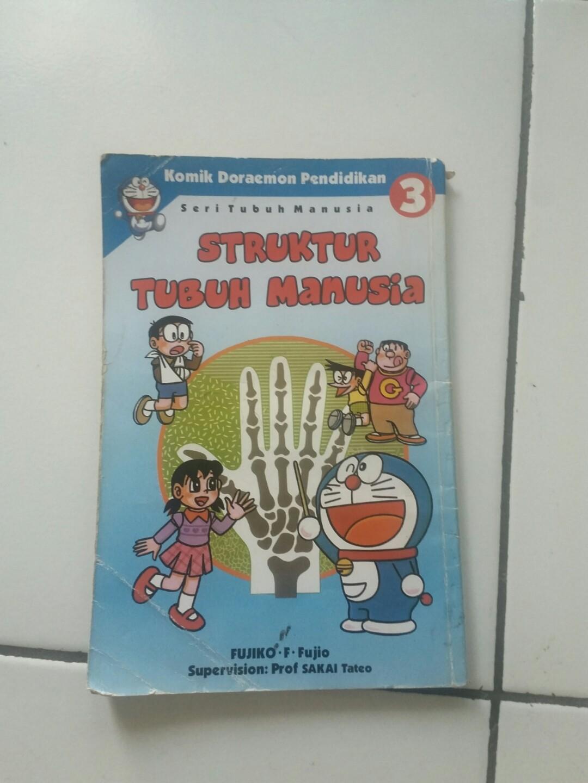 Komik Doraemon Struktur Tubuh Manusia Books Stationery