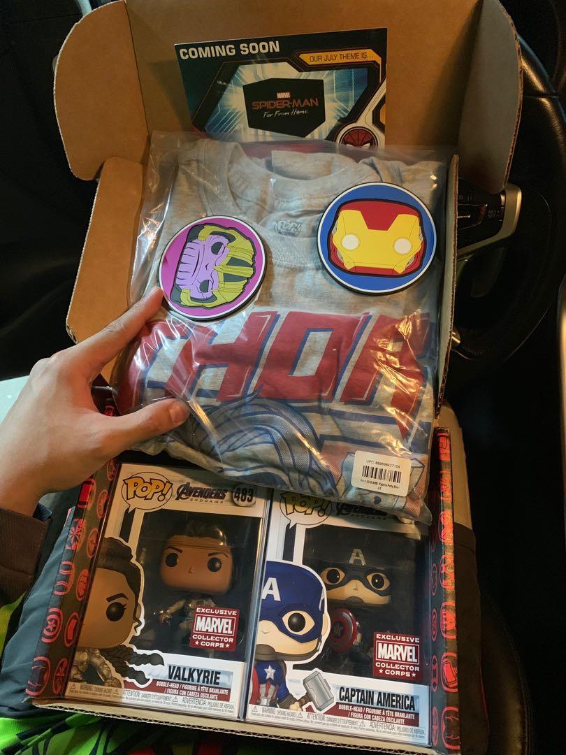 Marvel exclusive capt america valkyrie thor ironman thanos
