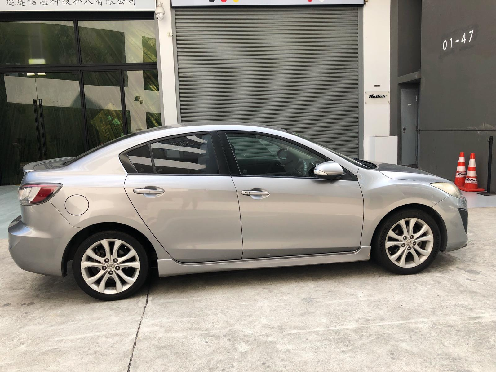 Mazda 3 2.0A Cheap rental for PHV Use Grab GoJek Ryde or Personal use