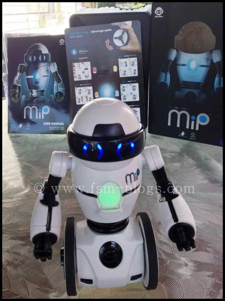MIP interactive self balancing and motion programmable vision and mood interactions was 109.99
