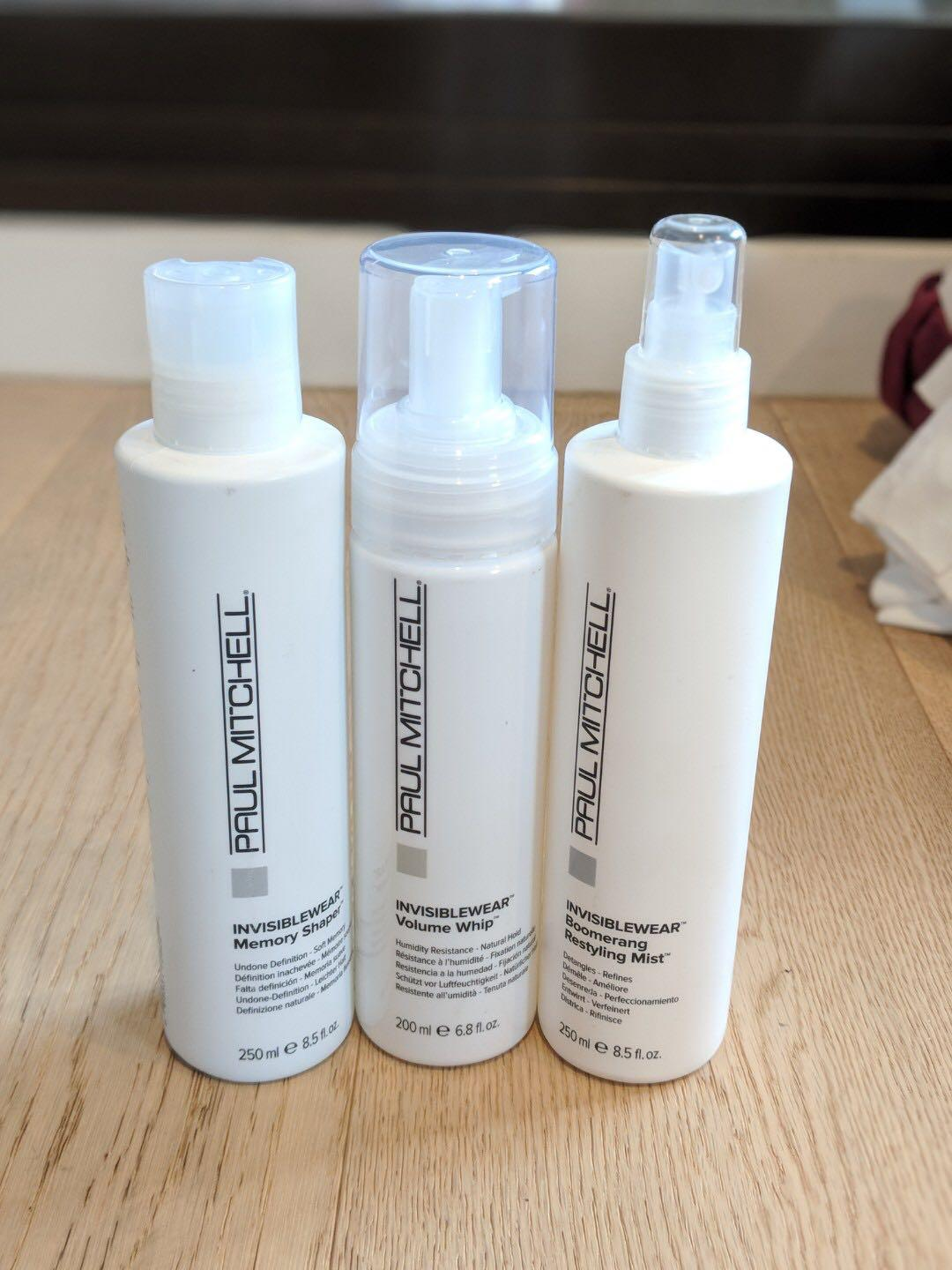 New - Paul Mitchell products