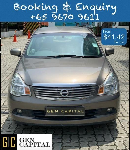 Nissan Sylphy 1.5A @ Lowest rental rates, good condition!