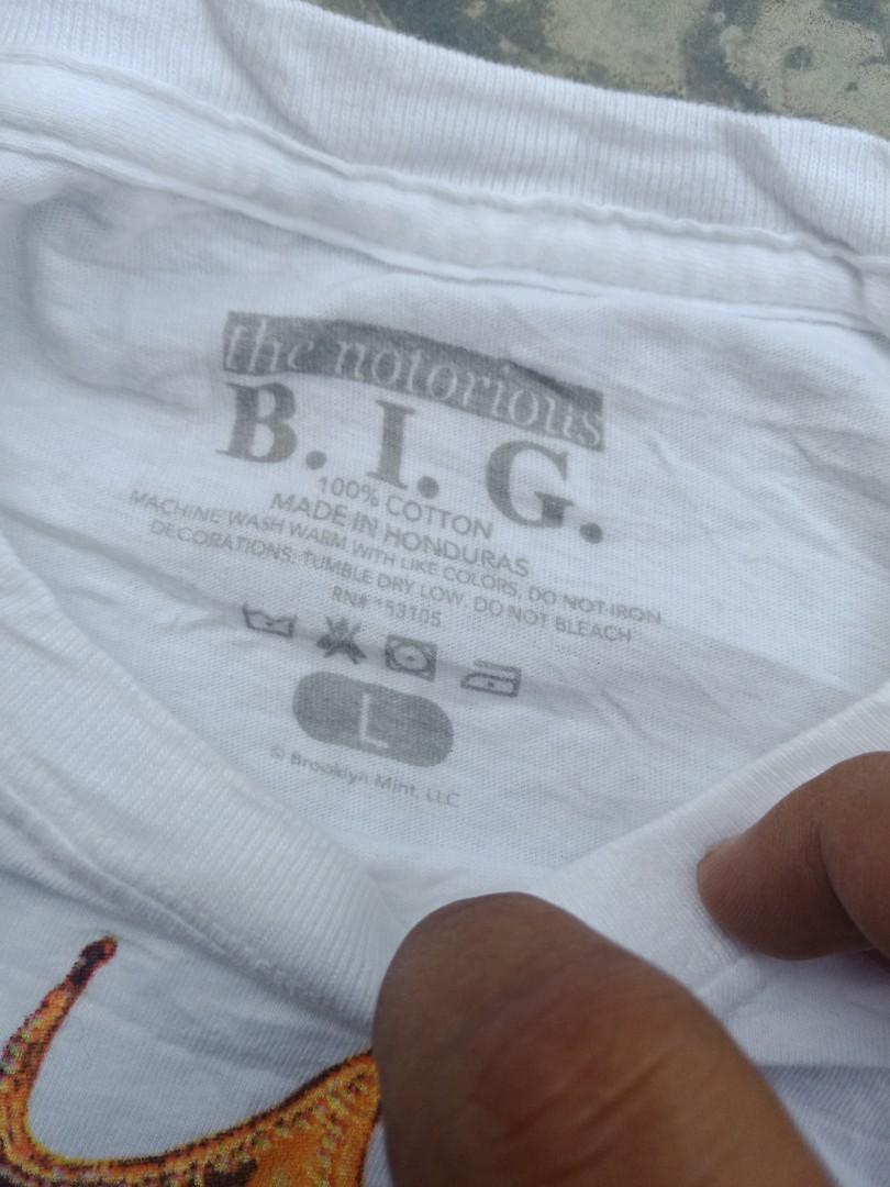 NOTORIOUS B.I.G 'READY TO DIE' T SHIRT