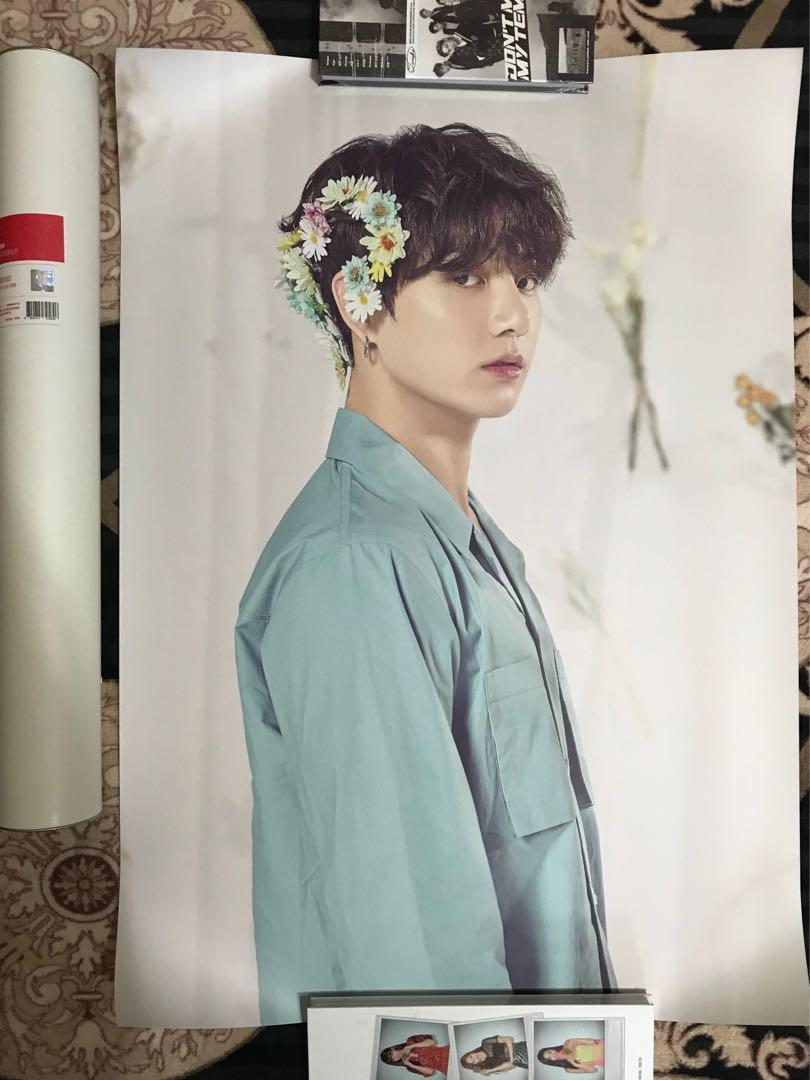 [OFFICIAL] BTS World Tour Love Yourself MD Poster Set (loose item)