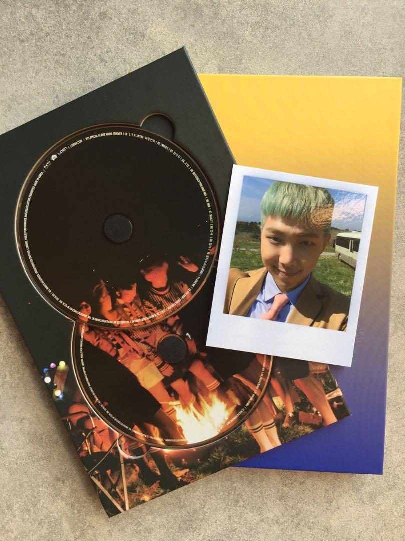 preloved bts young forever special album night version with rm photocard  1564369584 b76e641b progressive