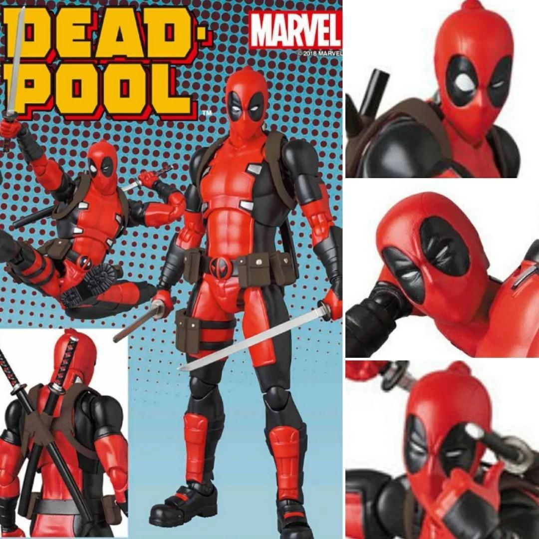 Medicom Toy MAFEX DEADPOOL No.082 GURIHIRU ART Ver Action Figure Marvel