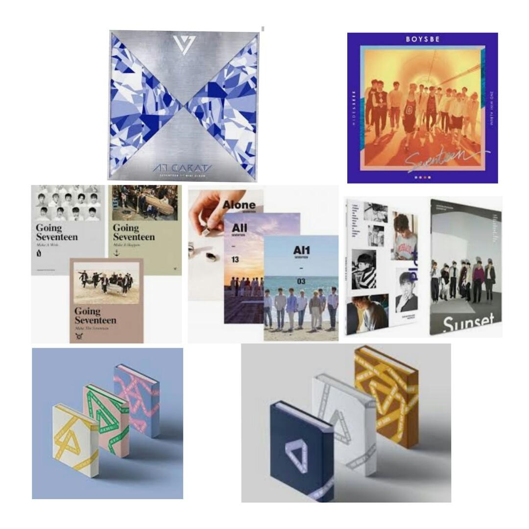Seventeen Album Price List, K-Wave di Carousell