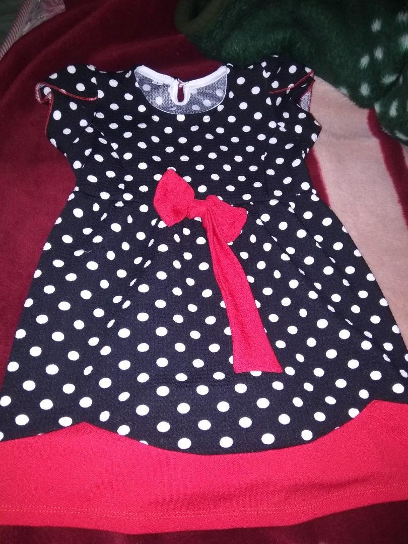 #Shopbackcarausel Dress Anak polka