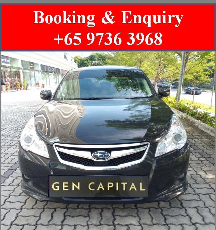 Subaru Legacy *Lowest rental rates, good condition!