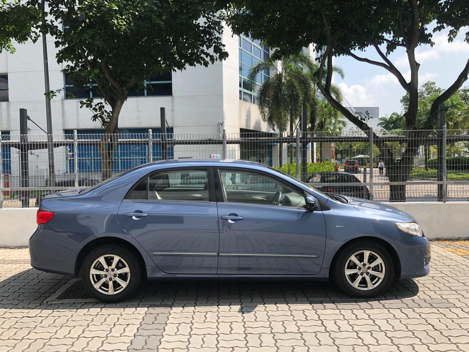 Toyota Altis 1.6a  Car Axio Premio Allion Camry Honda Jazz Fit Civic Cars Hyundai Avante Grab Rental Gojek Or Personal Use Low price and Cheap