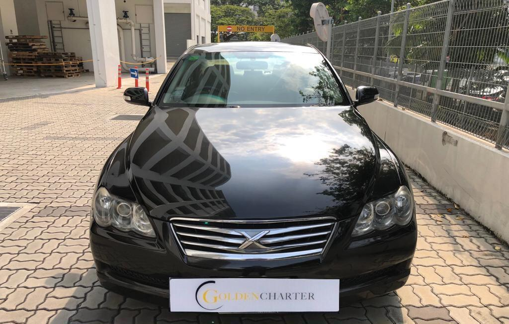 Toyota Mark X Cheapest Rental for PHV Grab GoJek Ryde or Personal Use