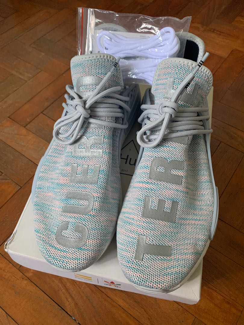 new concept c617b 0fe86 US 10.5 Adidas x Pharrell Williams BBC Cotton Candy Human ...
