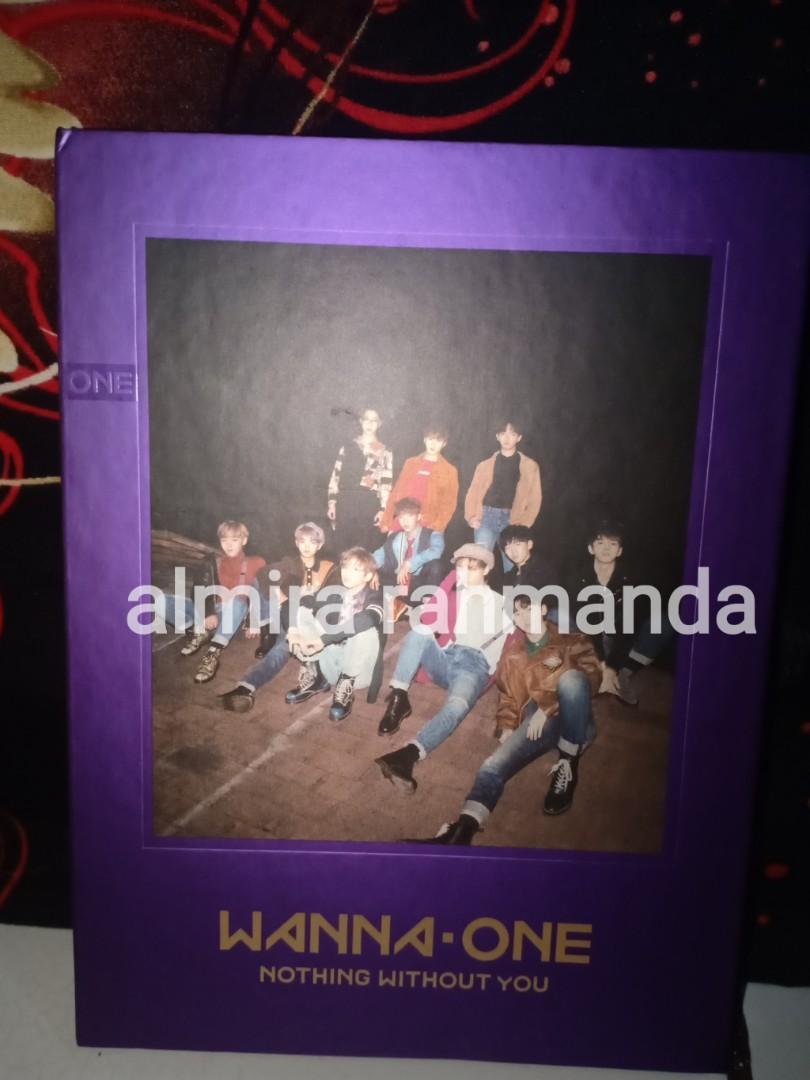 Wanna One Album [Nothing Without You] WANNA/UNGU version