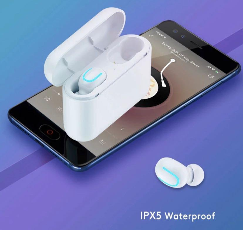 Wireless Bluetooth Headphones Compatible with iPhones/Androids.