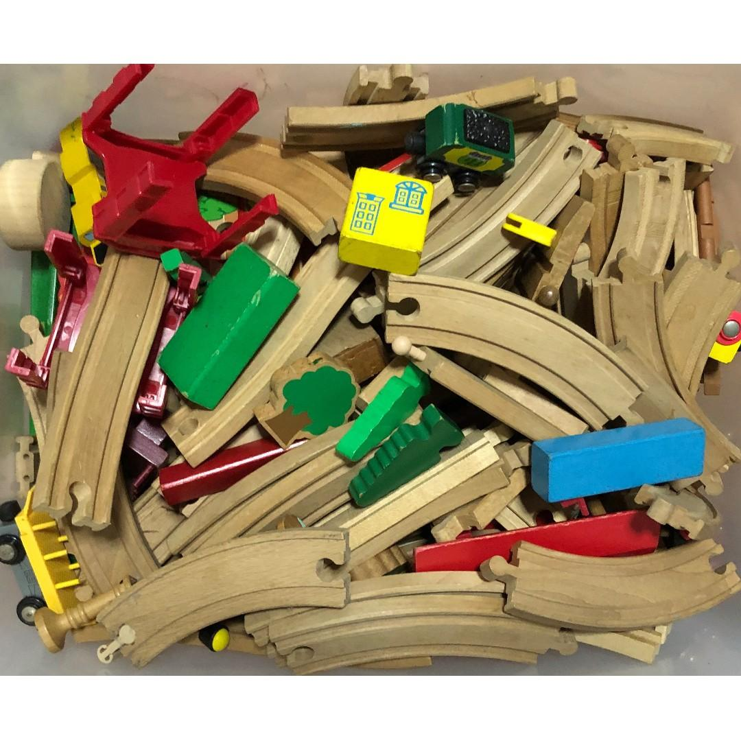 Wooden Track Trains
