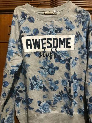 Floral Sweater Pull&Bear