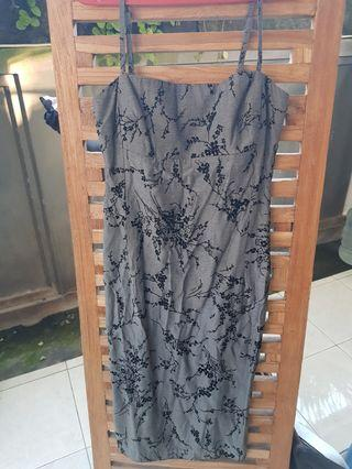 #ShopbackCarousell Mididres Grey