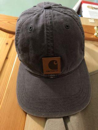 Carhartt 皮標 經典 灰 水洗 老帽 帽內紙板還在
