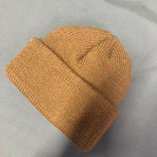 實拍🔥 土色 短帽 毛帽