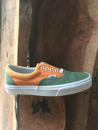 Vans Era Retro Bronze Green Golden Oak Coast