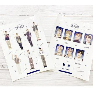 BTS 5th Muster Stickers